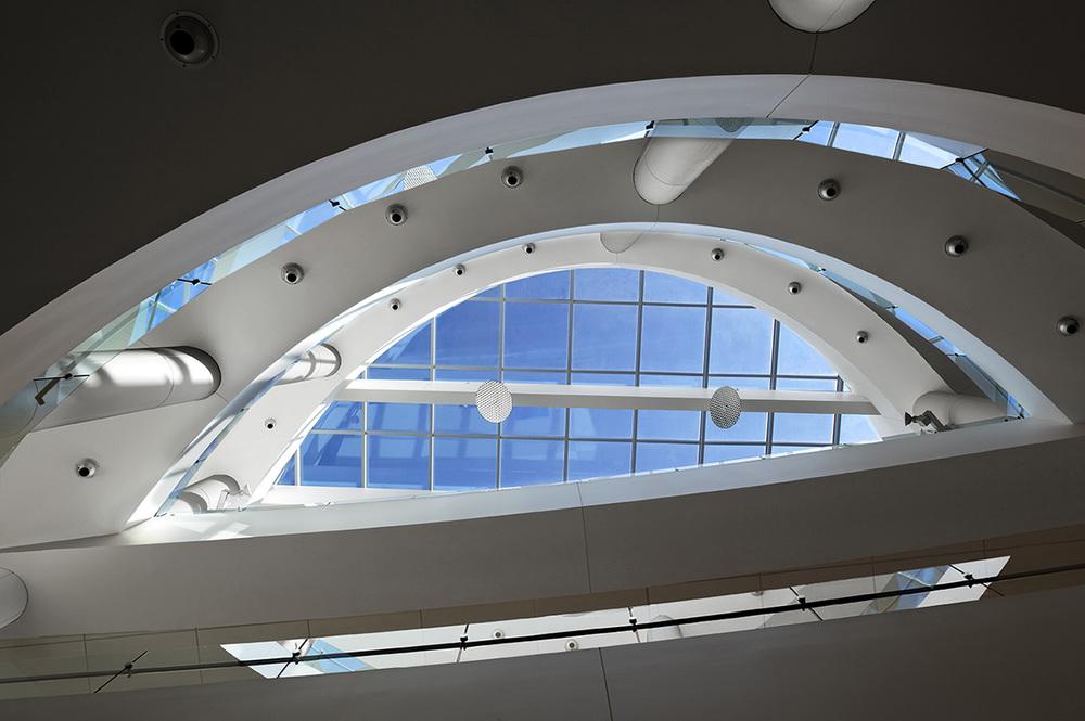UMEM Student Center_Atrium Daylight Detail_Looking Up